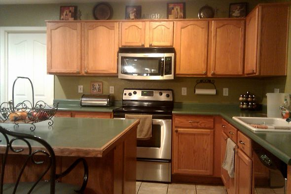 Green Colored Kitchen Countertops : Best kitchen ideas images on pinterest color palettes