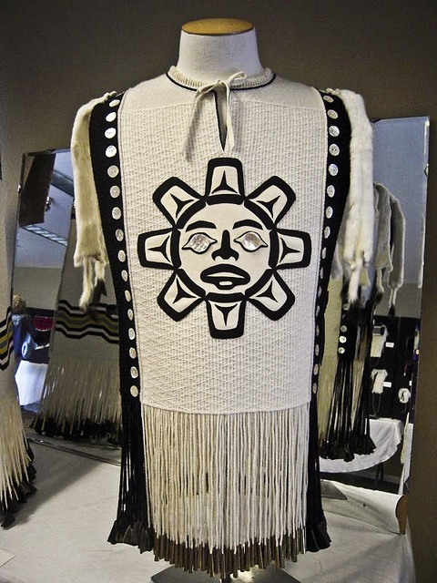 Parker, Kay - White Button Blanket Tunic by Rasmuson Foundation, via Flickr