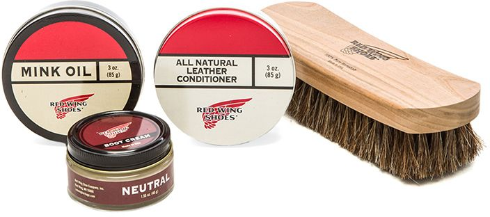 Red Wing Shoes Boot Care Kit | Red Wing Shoes, Red Wings Boots And ...