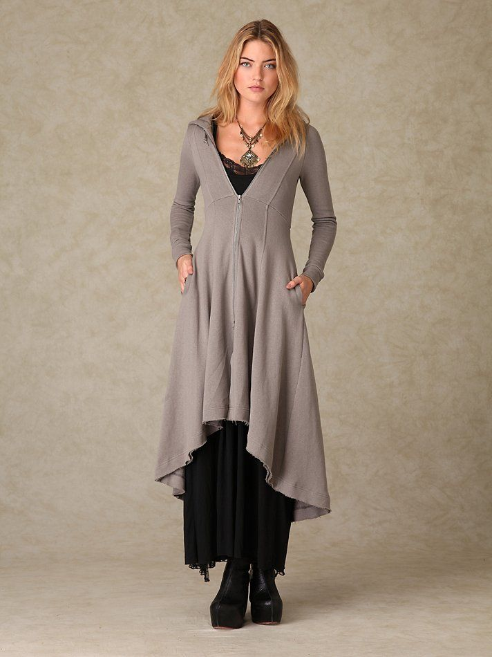 Free People Three Part Harmony Duster