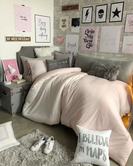 51 Cozy Bedroom with Pink Colored for Teen – Homiku.com