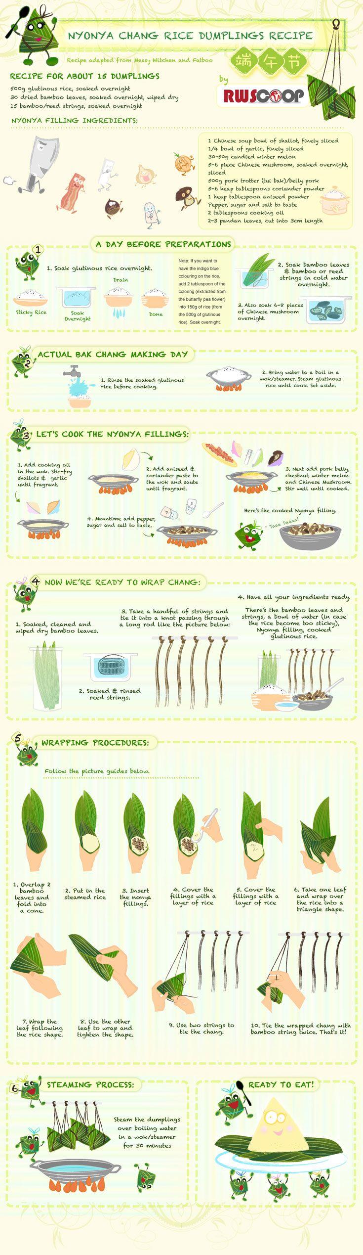 How to make Nyonya rice dumpling, by RWScoop