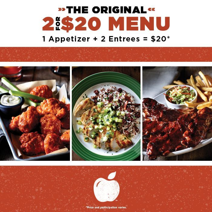 This Applebee's Menu Makes Trying Different Dishes Affordable #food trendhunter.com