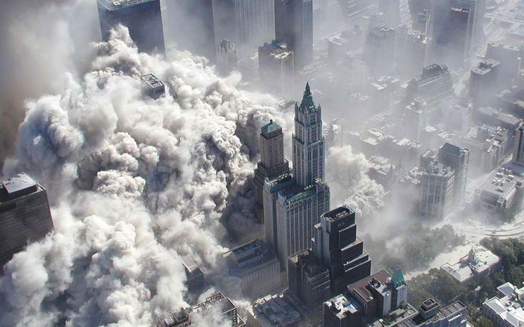 Башни-близнецы — теракт 11 сентября 2001 года в США (фото)