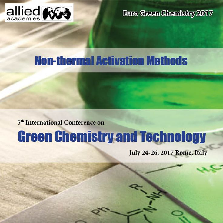 Non-thermal Activation Methods #Non-thermal Activation Methods is related to all works related to microwaves, plasma, ultrasound, #electrochemistry, #photochemistry, #mechanochemistry, etc. The techniques developed in chemical and pharmaceutical industries concerns about the chemical product design and manufacturing. Many activation techniques such as ultrasound, microwaves, and #photocatalysis are being part of the green methodologies used for the synthesis of high added value molecules.
