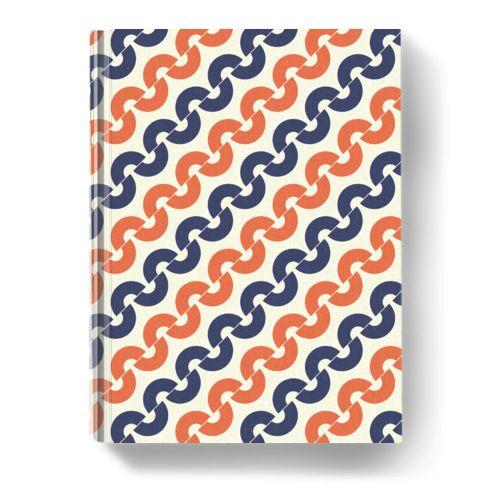 Vintage Curve Notebook dari Tees.co.id oleh Shabby Princess