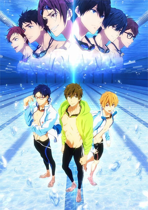 Free! Road to the World Yume Official Visual MANGA