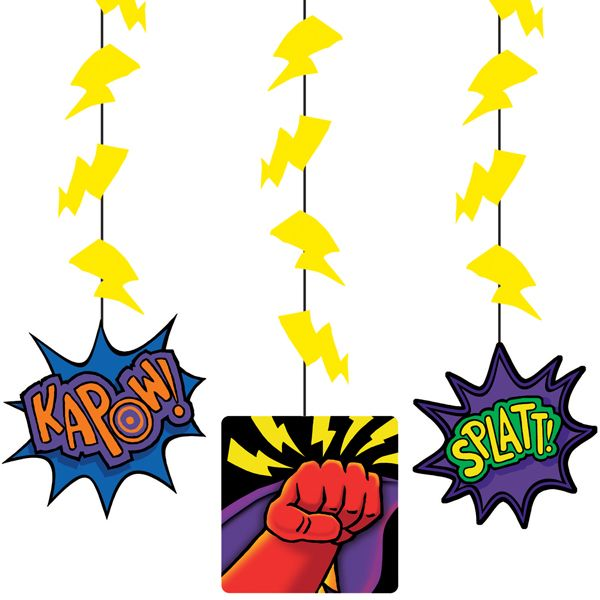 Superhero Decorations Ceiling Danglers Son S Room
