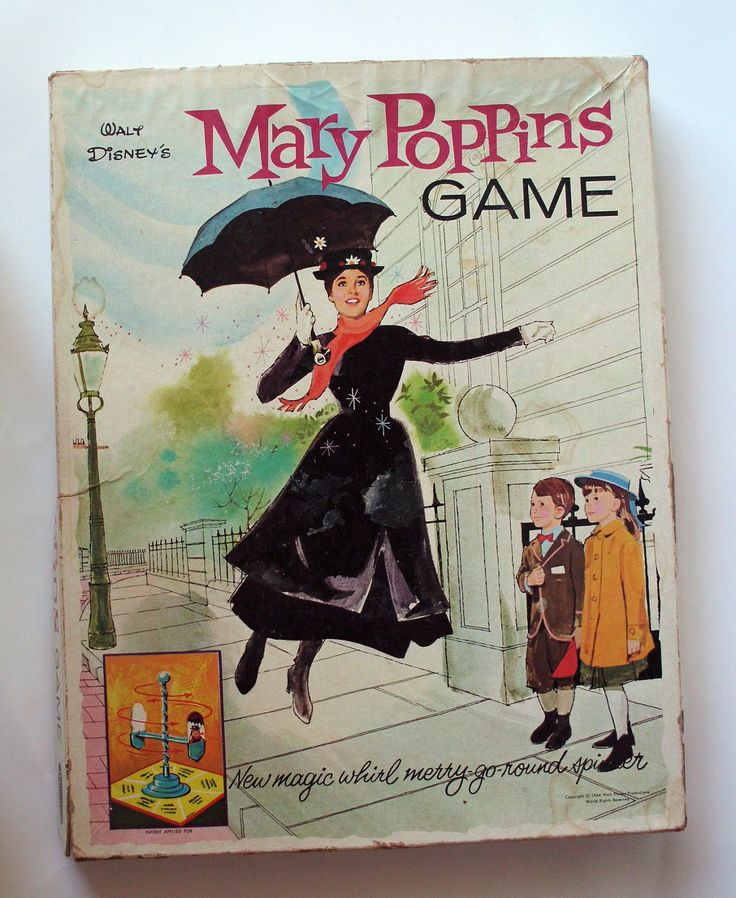 Toys For Mary Poppins : Mary poppins game joy of collecting board games past