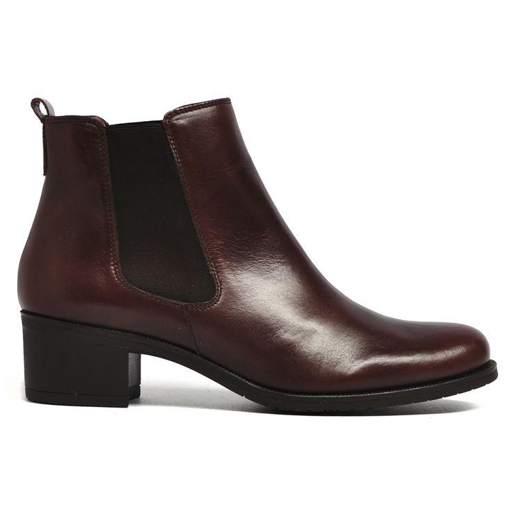 Waterwall by Wonders #fashion #style #boot #boots #leather #european #wonders #cinori