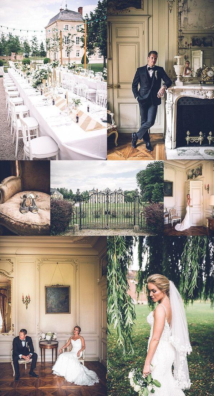Destination Wedding at Chateau de Varennes Snapshot | Images By Amy Faith Photography