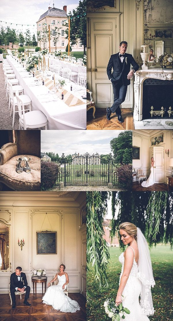 Destination Wedding at Chateau de Varennes Snapshot | Images By Amy Faith Photography