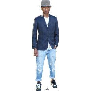 Pharrell Williams Lifesize Cardboard Cutout