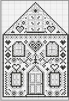 gazette94: monochrome maison dentelle chart