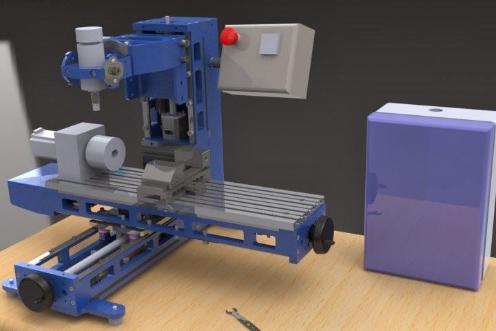 Homemade Milling Machine | CAD design where it all begins...