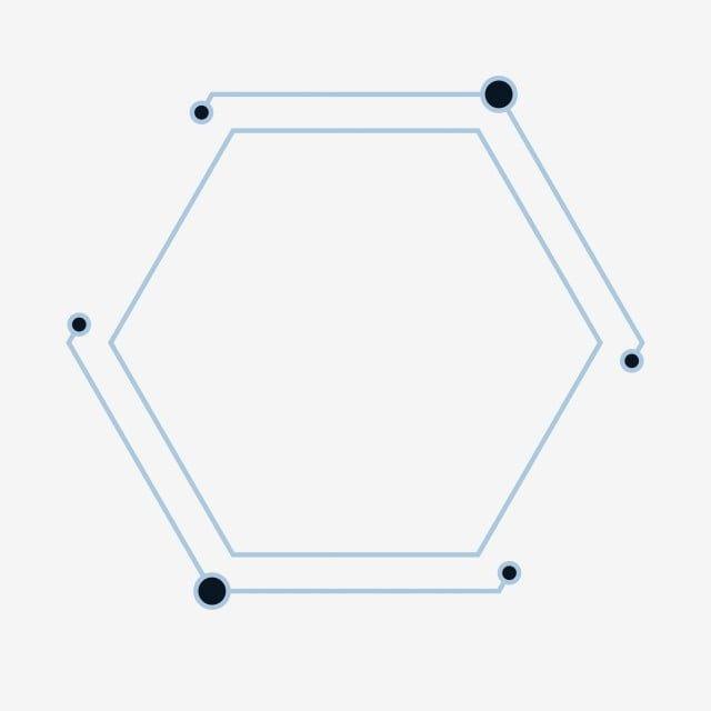 Borde Tecnologico Linea Redonda Forma Decoracion Patron Hexagonal Regular Decoracion Geometrica Tecnologia Borde De Gran Efecto Decorativo Efecto Png Y Vecto Hexagon Pattern Geometric Decor Composition Design