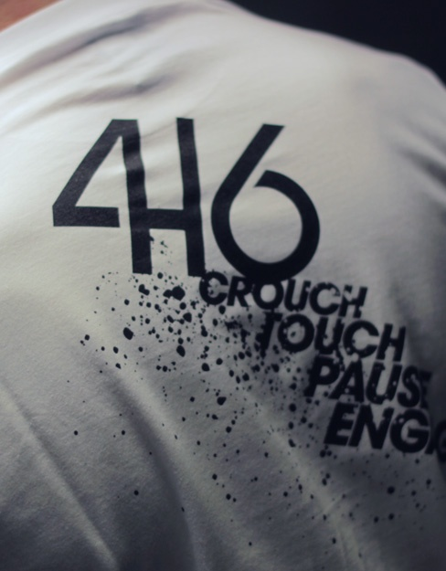 T-shirt adulte 416 rugby - Engage your back !