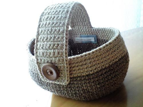 One-handle mini basket