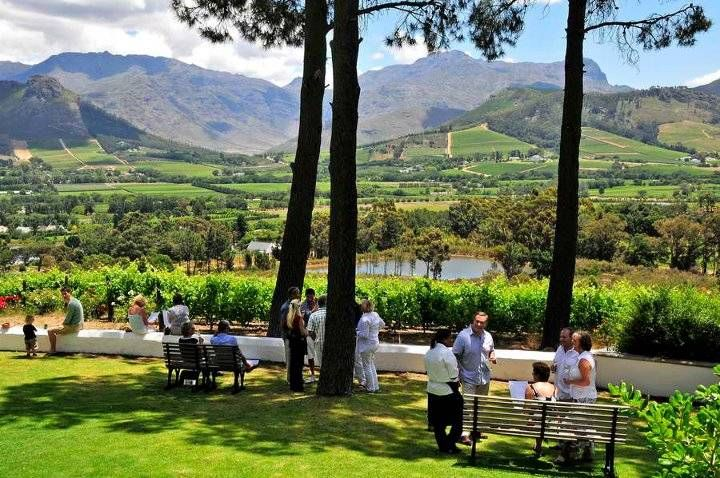 La Petite Ferme - Restaurant, Guest Suites and Winery. Franschhoek, South Africa