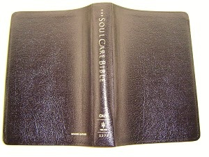 By fare the BEST Counseling Bible called: The Soul Care Bible NKJV by Tim Clinton / Golden Edges, Luxury Black Bonded Leather