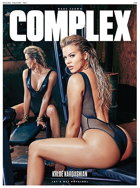Khloe Kardashian Bares Booty on Racy Complex Cover, Spills on Sisters Kim Kardashian, Kylie Jenner