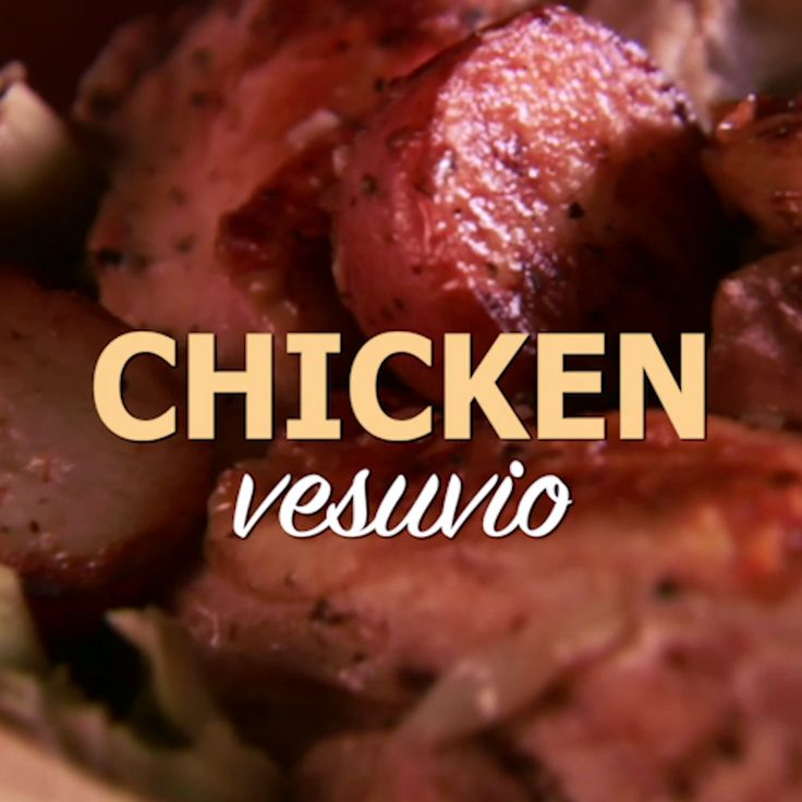 Fulfill your craving for a meaty Italian meal with Giada's Chicken Vesuvio recipe.