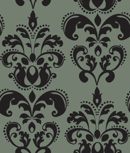 Charcoal Damask by *pixelsandicecream on deviantART