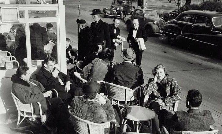 Leidseplein Amsterdam (jaartal: 1950 tot 1960) - Foto's SERC