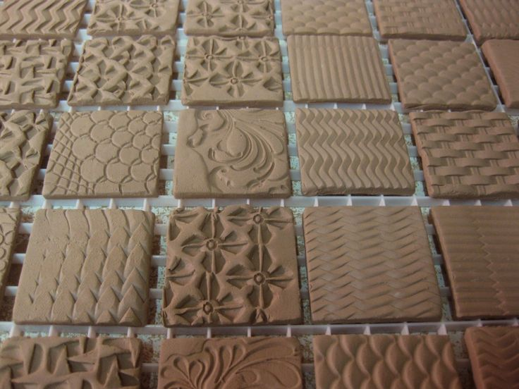 Great website for clay stamp making. (Use this technique to make texture molds for slumping?)