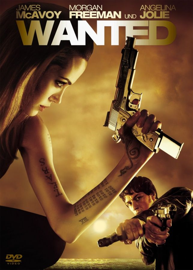 amazoncom wanted angelina jolie james mcavoy morgan - 643×900