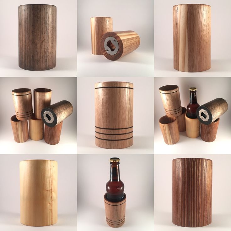Wooden Stubby Holders for beer, cider and soft drinks #coozie #koozie
