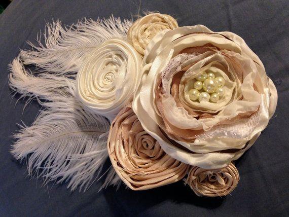 Wedding dress sash belt bridesmaids maternity by sunshowerflowers