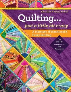 This looks fun crazy and traditional together C&T Pulblishing # 11010   @ModaFabrics