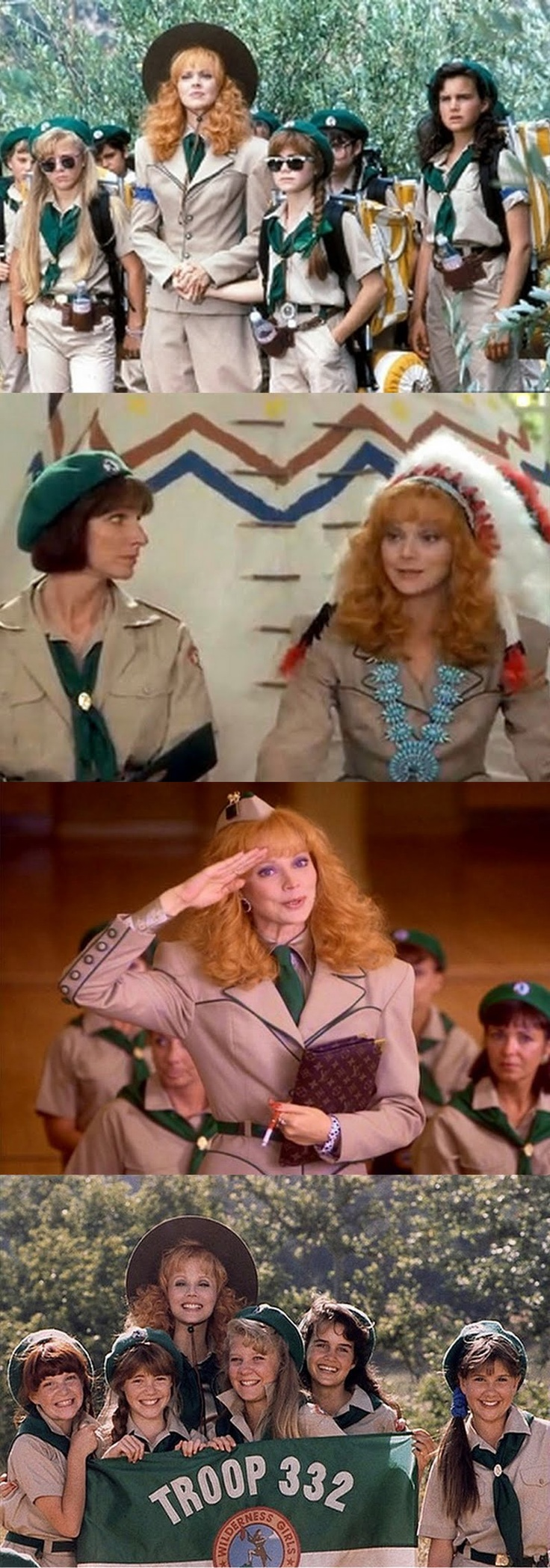 Troop Beverly Hills--one of my top 3 favorite movies ever! I know every line!!!