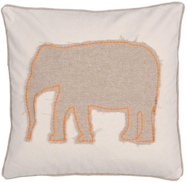 Kohl's Windsong Elephant Throw Pillow