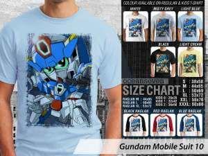 Kaos Gundam Robot 79, Kaos Anime Japan Gundam Suit, Kaos Gundam Couple Family