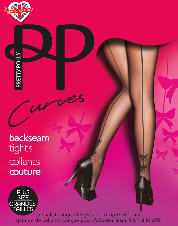 Pretty Polly Curves Beakseam Tights