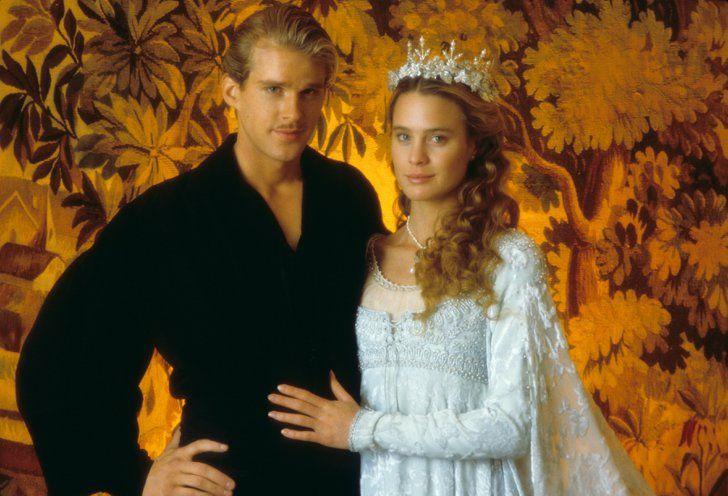 Pin for Later: Die 45 schönsten Hochzeitskleider aus Film und Fernsehen Die Braut des Prinzen