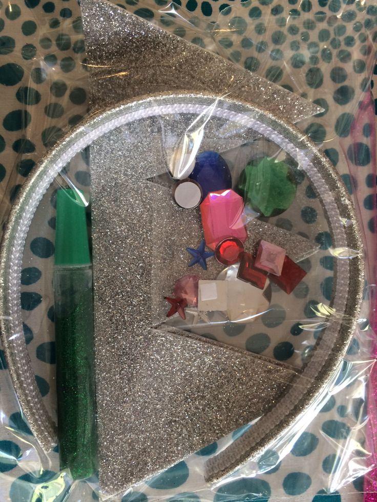 Pipoka Play Kits: Coronota una princesa. Kit para crar tu propia corona. Incluye diadema, corona de escarcha, pegante y joyas para pegar. Puedes hacer tu pedido a pipoka@pipokaplaykits.com. Ideal para sorpresas y regalos