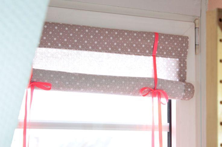 EllyBeth: DIY / Coudre un store