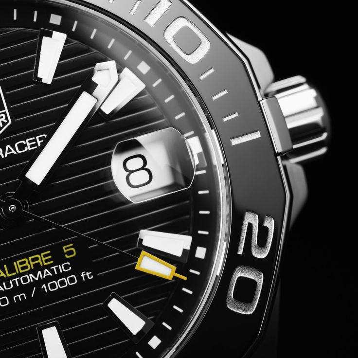 Discover the TAG Heuer Aquaracer Calibre 5 Automatic Watch 41 mm WAY211A.BA0928 .