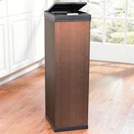 Copper Colored Stainless Steel 60 L Trash Can Trash