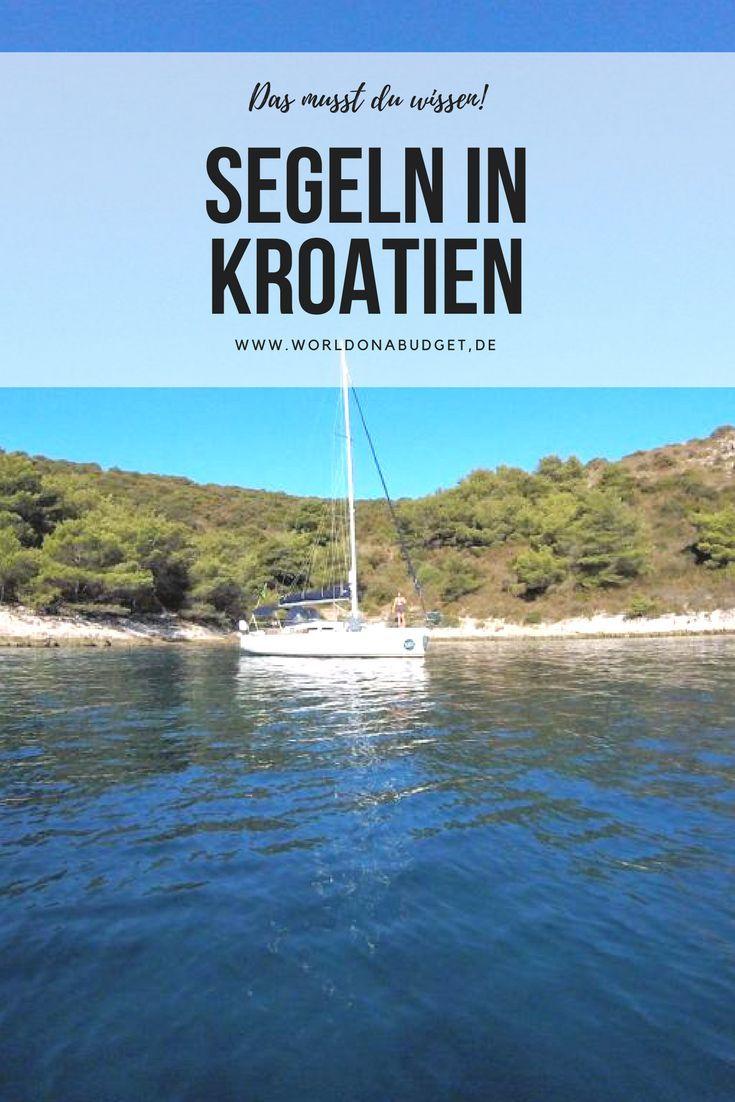 #Kroatien ist ein tolles Land für #Urlaub auf dem Wasser, nicht zu teuer und auch geeignet für eher unerfahrene Segler. Was es zu beachten gibt und einige der schönsten Ankerspots vor den Inseln an der adriatischen Küste, stellen wir dir in unserem Reisebericht über das #Segeln in Kroatien vor. Jetzt lesen und Fernweh bekommen...