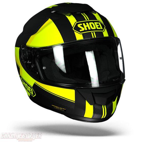 Shoei GT-Air Exposure TC-3 Motorcycle Helmet - Chromeburner
