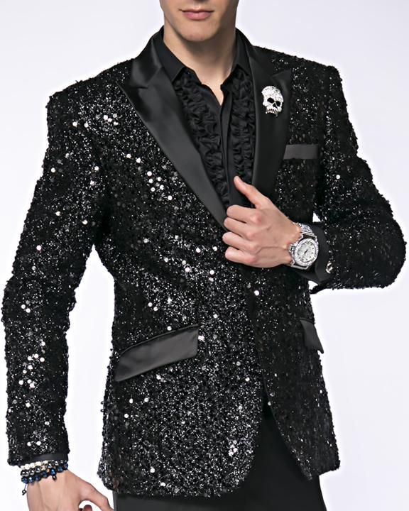 16dea65d1d4 Men s New Fashion Blazer and Sport Coat Stella Black in 2019