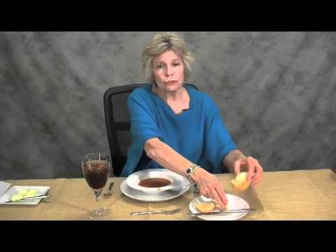 Etiquette Dinner Basics- because I always feel uncivilized at dinners and wish we had learned these things