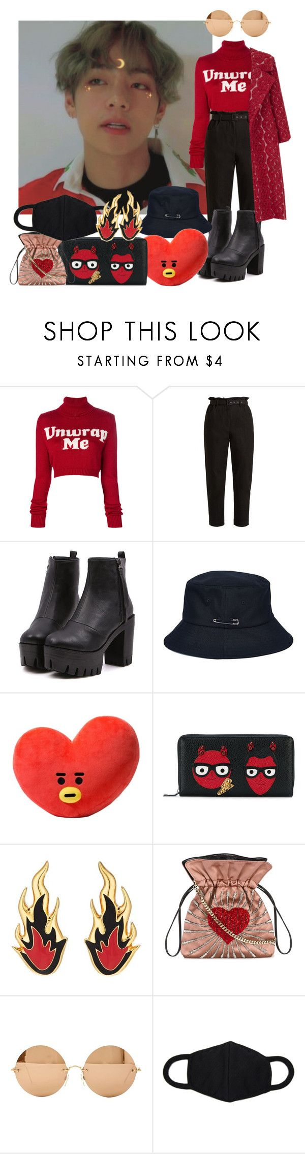 //509// by danielagreg on Polyvore featuring GCDS, The 2nd Skin Co., Isa Arfen, Dolce&Gabbana, Les Petits Joueurs, AMBUSH, Victoria Beckham and Pillow Perfect
