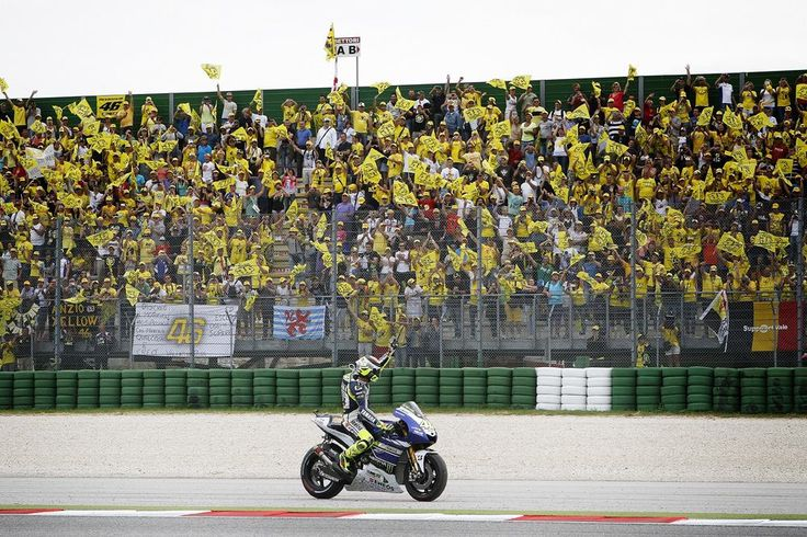 """2013 : Valentino Rossi : Misano -- """"I'm sorry that on sunday i didn't wave from one of the podium steps, but thanks everybody for your wouderful support #46 """""""