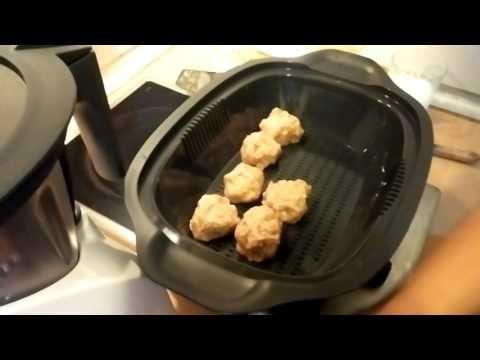 Receta de albóndigas con curry Monsieur Cuisine, Lidl Español. - YouTube