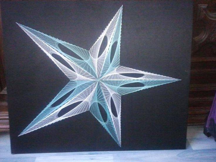 fils rendus tableaux peintures fils tendus fait maison projets essayer pinterest. Black Bedroom Furniture Sets. Home Design Ideas